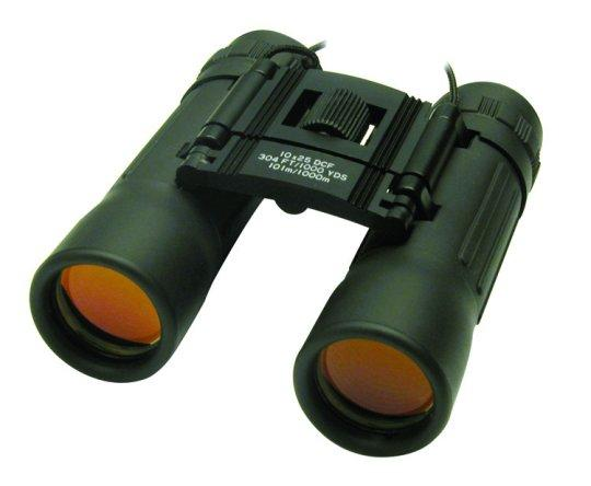 10x Binoculars with K9 Roof Prism and 25mm Ruby Coated Lens