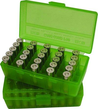 CaseGard Handgun Ammo Box 50ct
