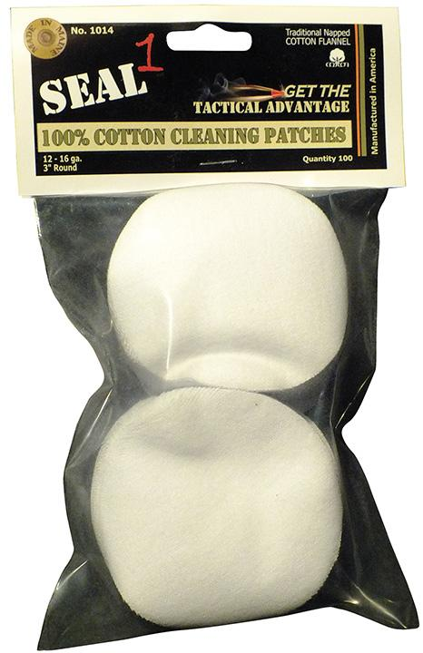 SEAL 1 Cotton Cleaning Patch 3 inch 100 Pack