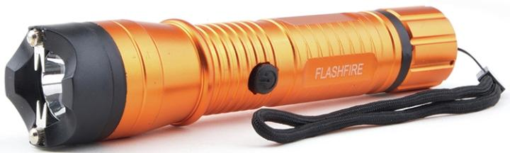 SG-M16000FOR Monster 16Mil Volt Metal Light Stun Gun Orange