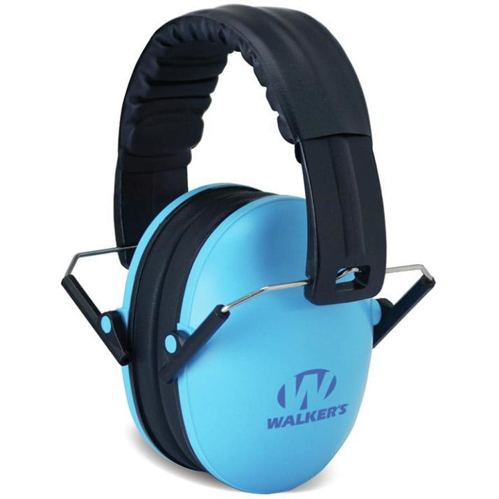 Walkers GWP-FKDM-BL Kid Size Shooting Muffs Blue