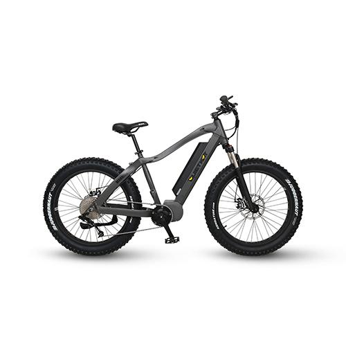 18QKM1000CCHM-BLK DX-QuietKat Warrior 1000W Hunting Bike