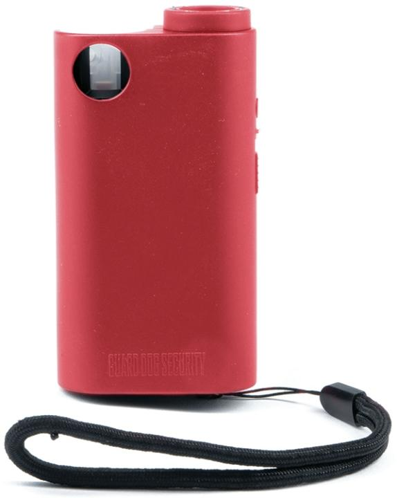 SGPSTLGDO-R Guard Dog Stun/Pepper Spray/Flashlight Red