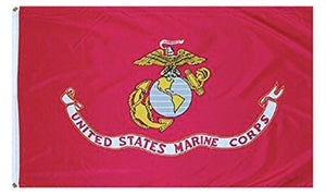 FLAG-837683 Flag Marines Polyester Flag 3 x 5