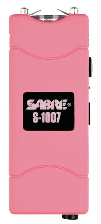 S1007PK Sabre Short Stun Gun with LED Light
