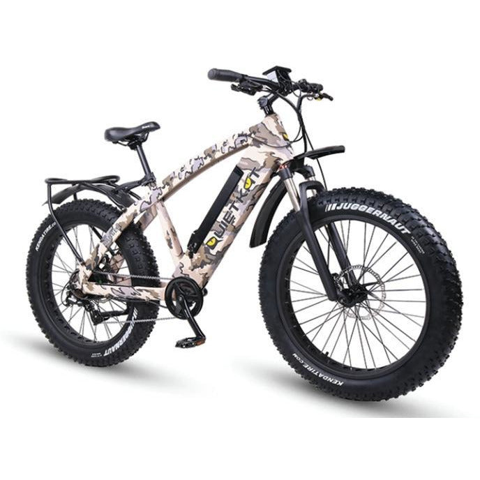 QuietKat Ranger-Camo 750W Hunting Bike
