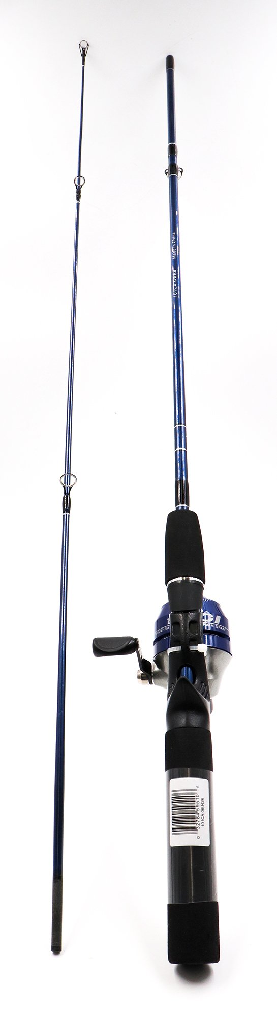 21-10024 Zebco Spincast Rod & Reel Combo (Wholesale orders-sold in multiples of 6 pcs only)
