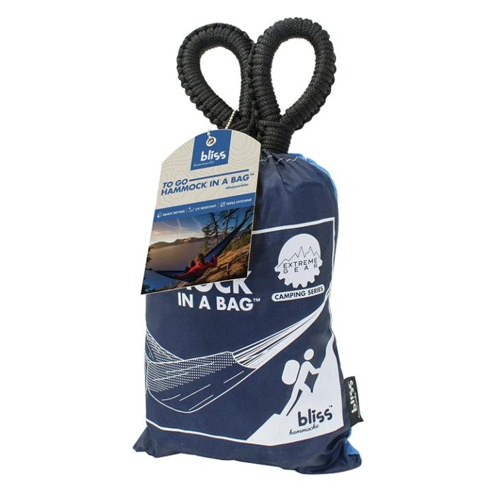 Bliss BH-406XL-N 60 in To Go Hammock in a Bag With Mosquito Net