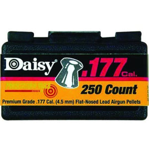 Daisy .177 Cal. Flat-nose Pellets 250ct