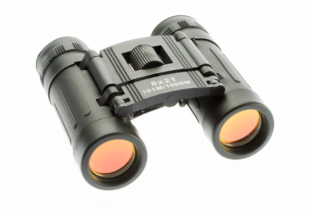 8 X 21mm Ruby Coated Lens Binoculars with Case