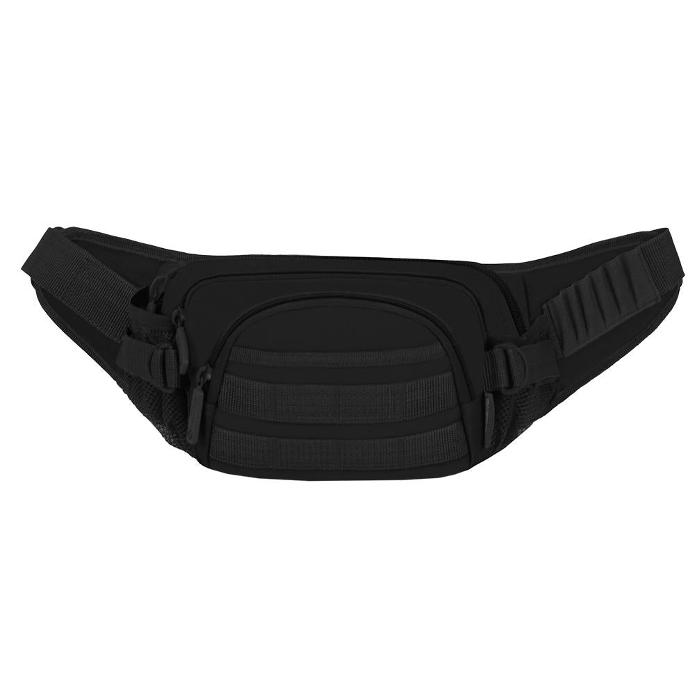 F102-BK     Tactical MOLLE Fanny Pack- Black