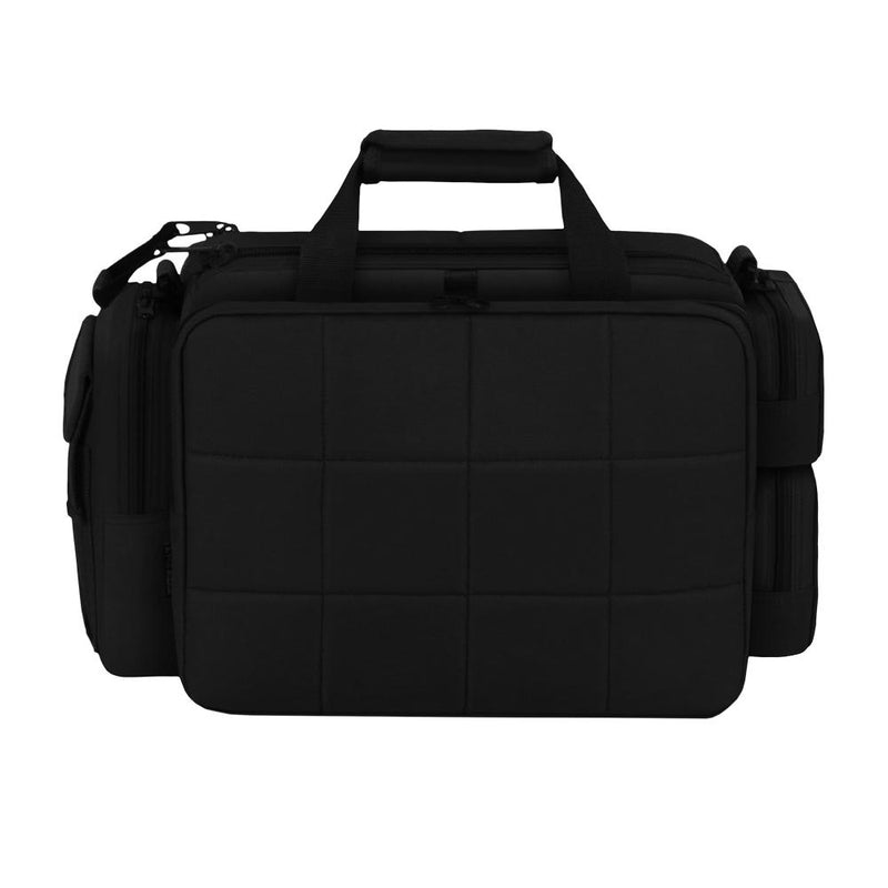 RTD701L-BK Tactical Padded Multi Pocket Large Range Bag -Black