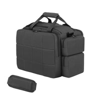 RTD701-BK Tactical Padded Multi Pocket Range Bag  Black