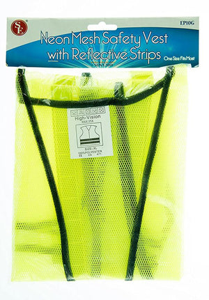 EP10G Green Mesh Vest Reflective Strip 25x27in