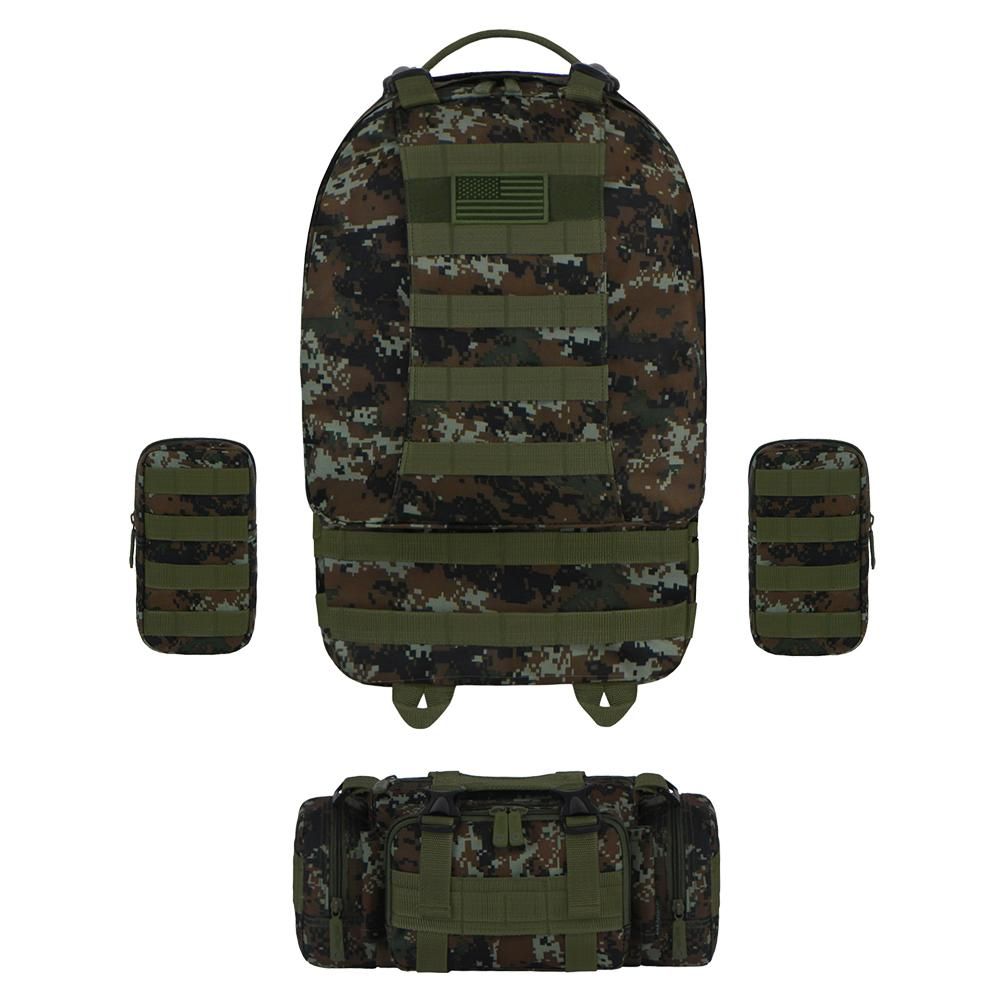 Tactical Utility Backpack Green ACU