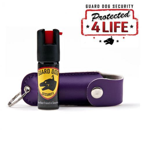 PS-GDOC18-1 Guard Dog ½ Ounce Pepper Spray with Assorted Color Holster
