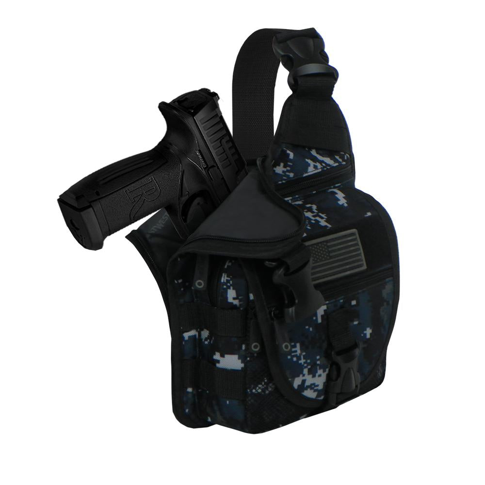RTC533-NAC Tactical Handgun Sling Bag Navy ACU