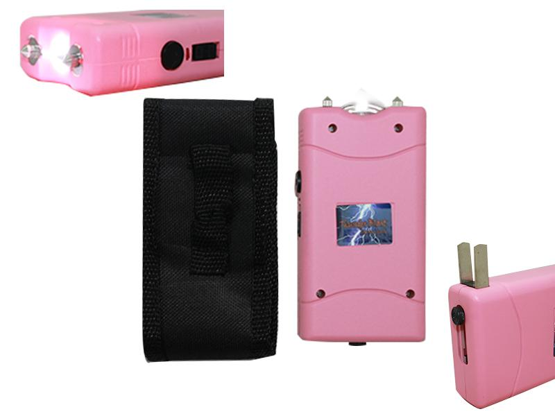 OTH-M18MPK 18 M Stun Gun With LED Pink