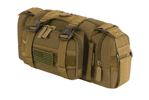 RT506-TAN East West Tactical MOLLE Convertible Utility Pack - TAN