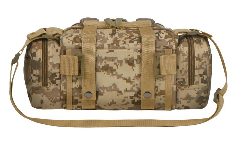 RTC506-TAC East West Tactical MOLLE Convertible Utility Pack - Desert Digital Camo