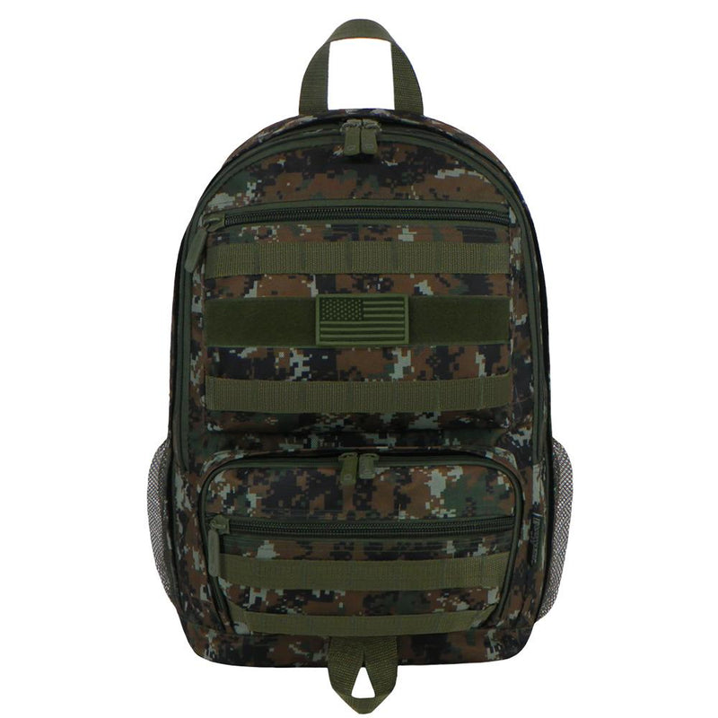 RTC509-GN-ACU Tactical Sport BackpackGreen Digi  Camo