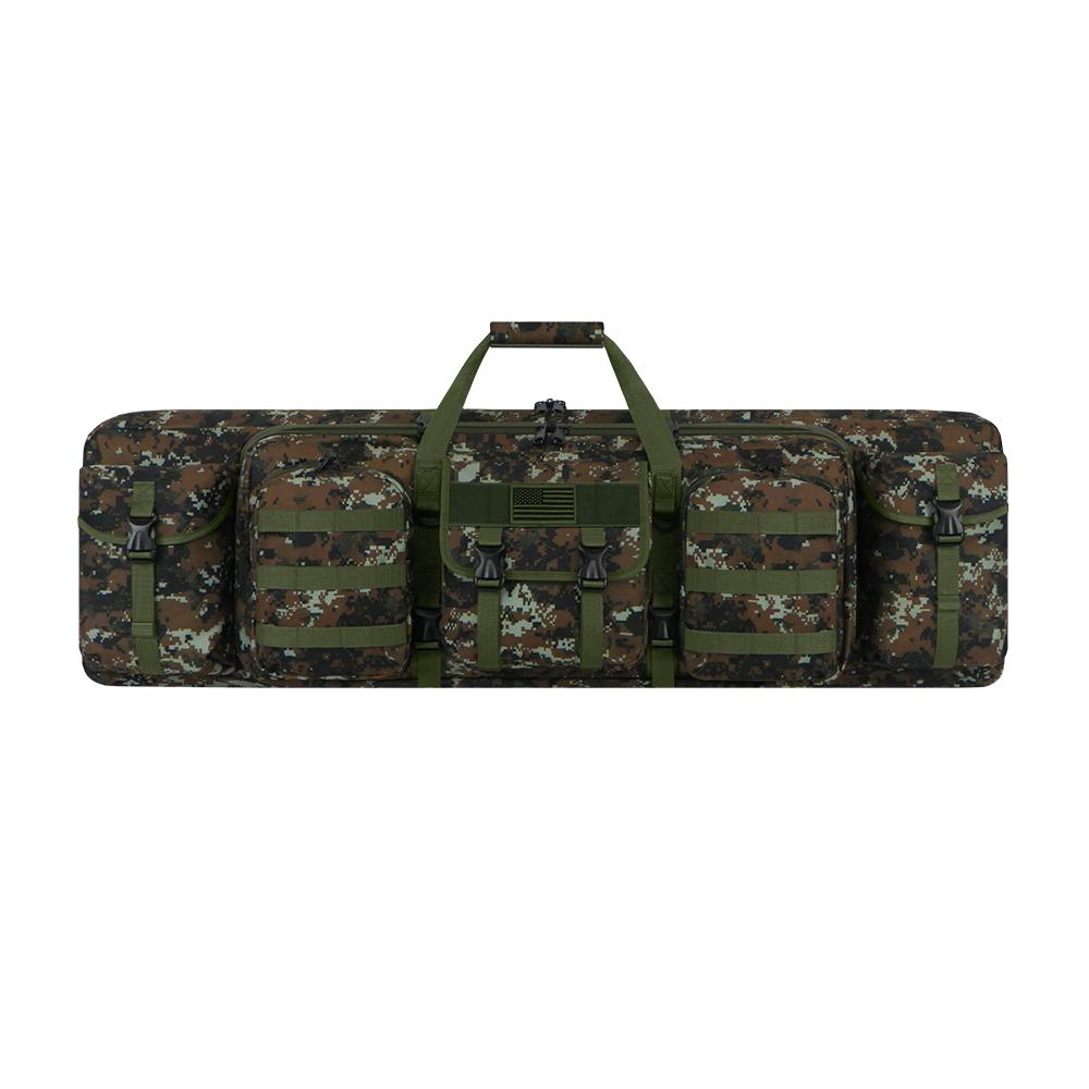 RTGC604-GACU Tactical Padded Double Hunting Bag - Green ACU