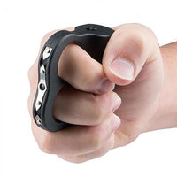 SGGID2-BK Guard Dog Dual Ring / Finger Double-Spark Stun Gun Black With LED Light