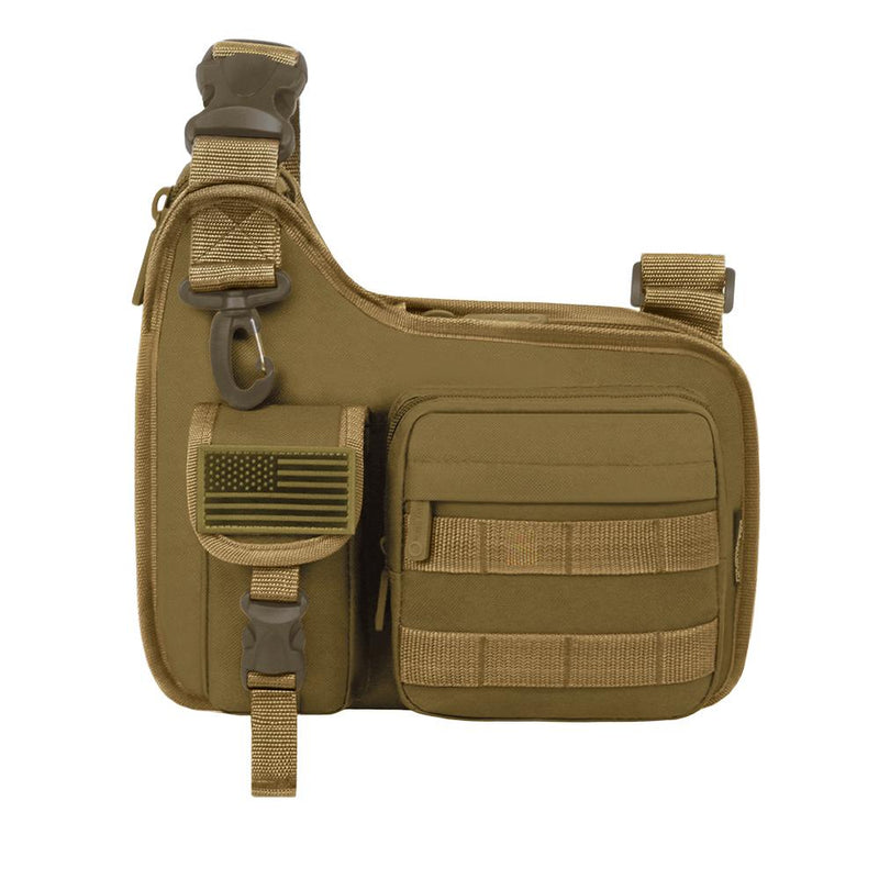 RT518-TAN Tactical Sling Bag Gun Storage Tan