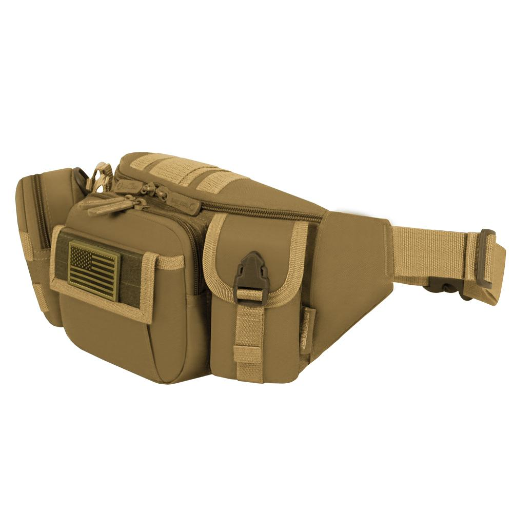 RF104-TAN Tactical Fanny Pack -  Tan