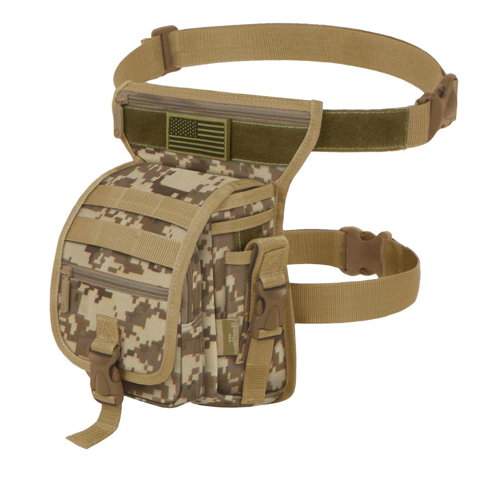 RTC519-TAC Tactical Hip Bag - Desert Tan DigiCam