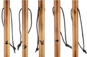 WS620-23 23 Pcs 55 inch Assorted Hiking Sticks