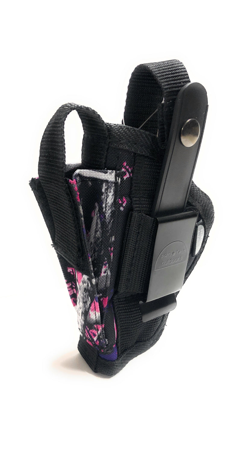 WSB-20MG Pink Muddy Girl Belt or Clip on Holster 20