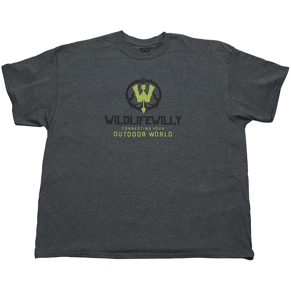 WWDH-S WW T-Shirt  Dark Heather -SMALL