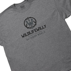 WWGH-S WW T-Shirt  Graphite Heather -SMALL