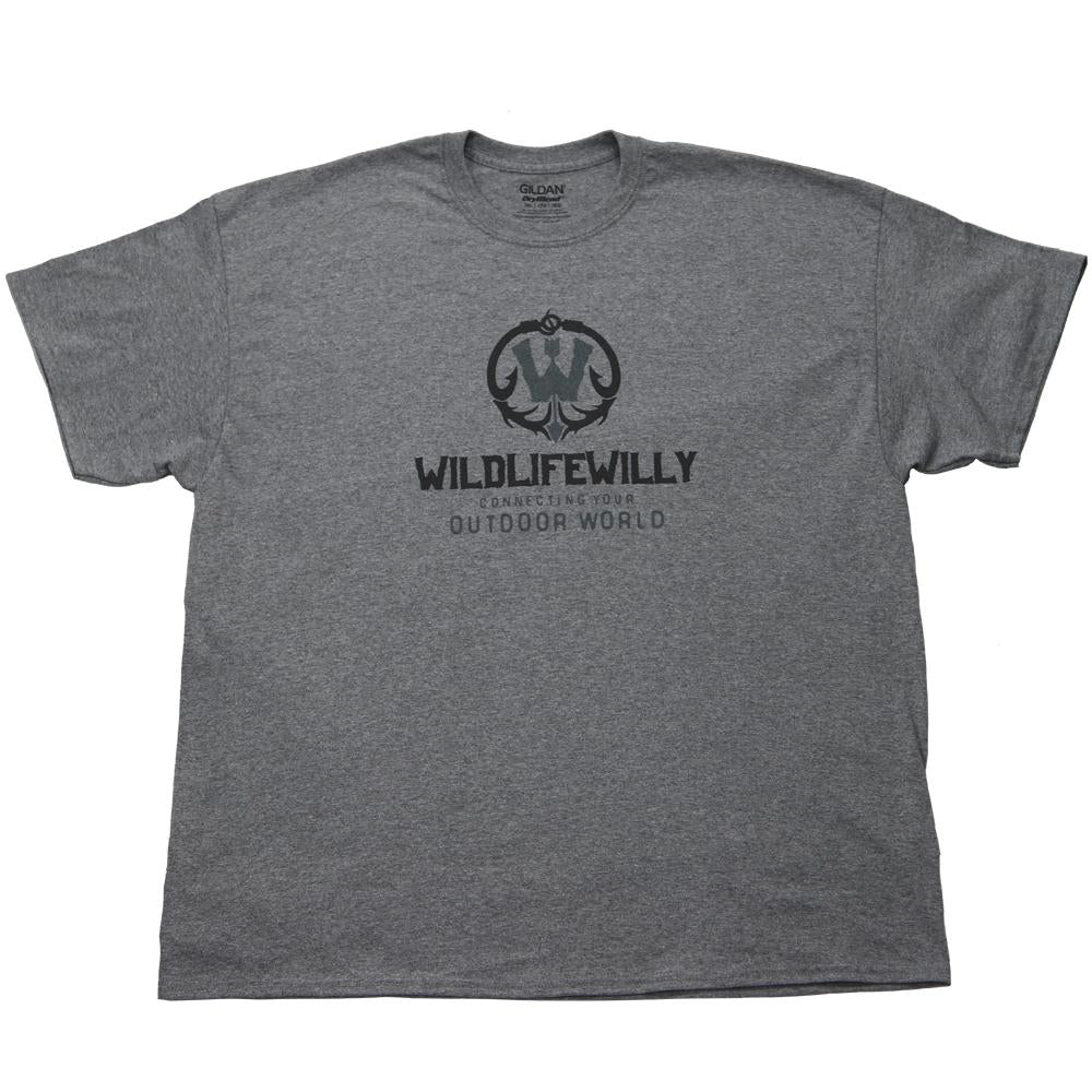 WWGH-M WW T-Shirt  Graphite Heather -MED