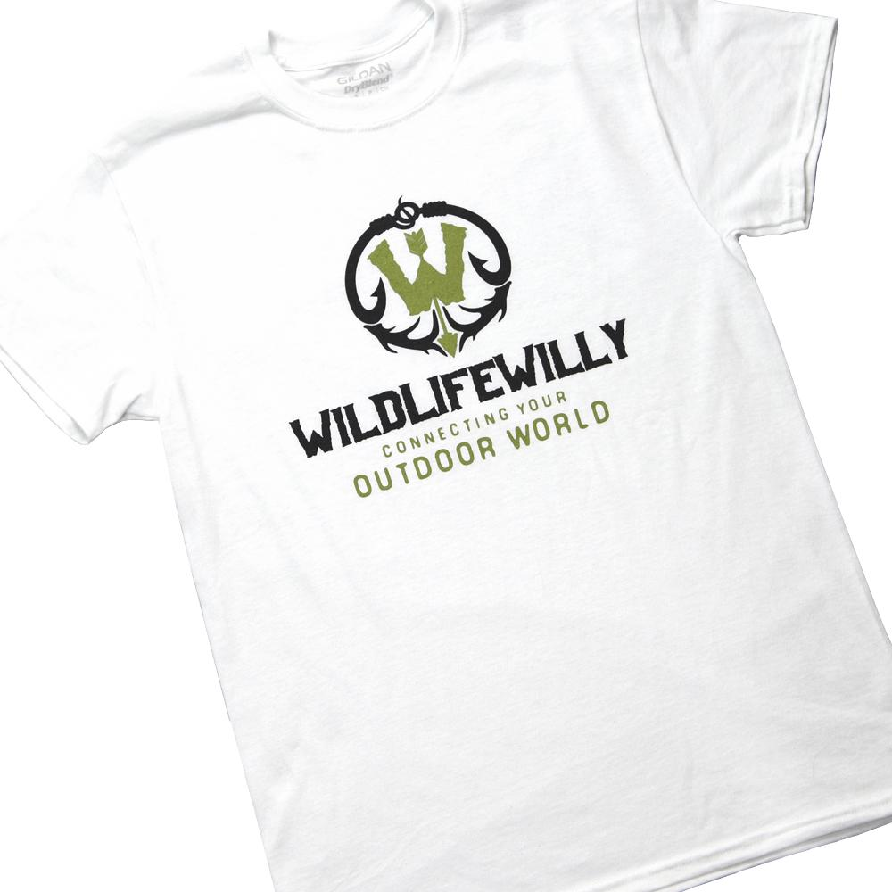 WWWBK-S WW T-Shirt White Black Logo-SMALL