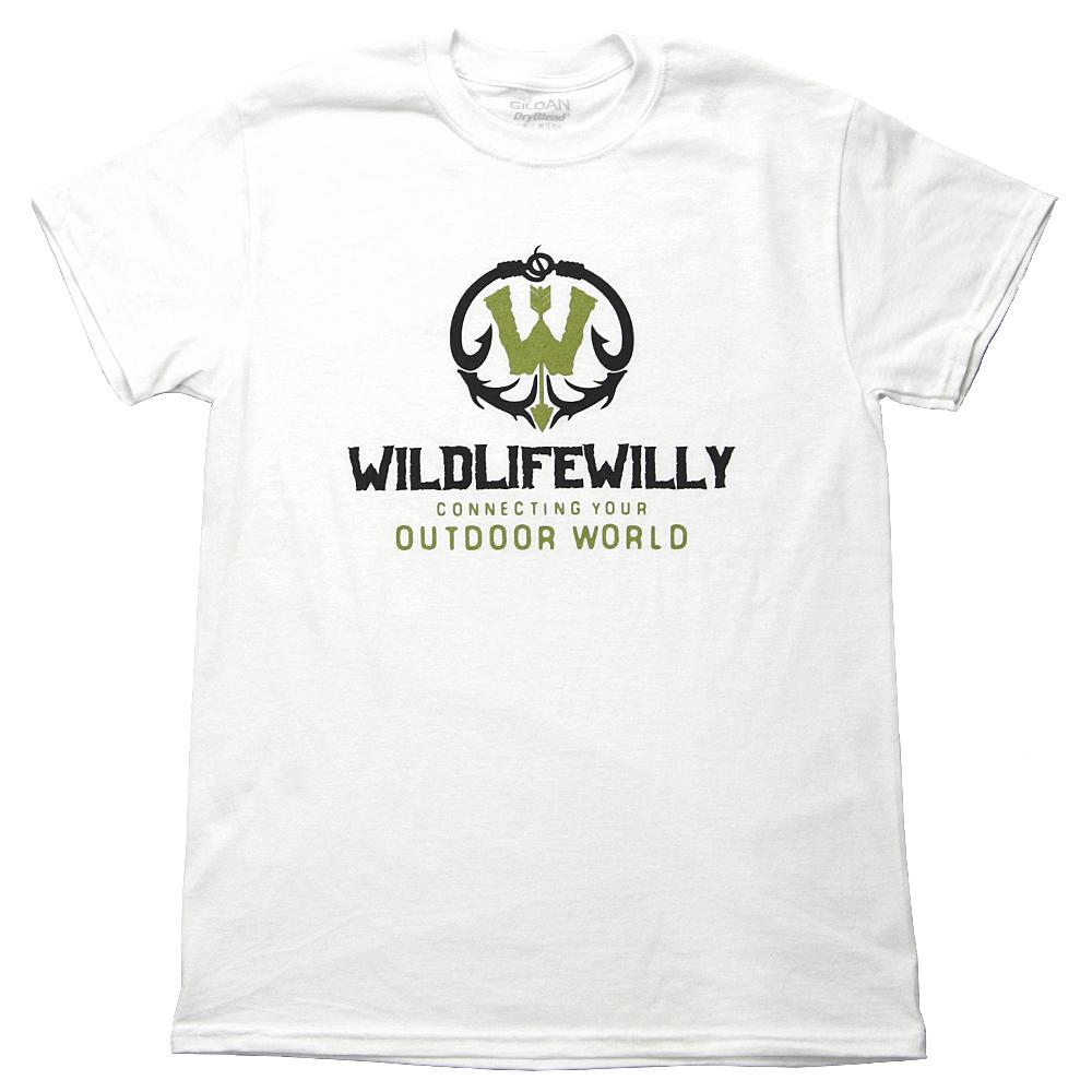 WWWBK-XL WW T-Shirt White Black Logo-XL