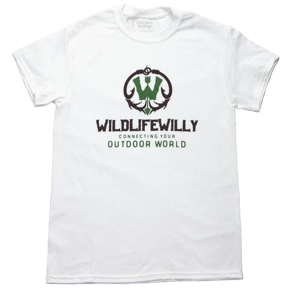 WWWBRN-XL WW T-Shirt White Brown Logo-XL