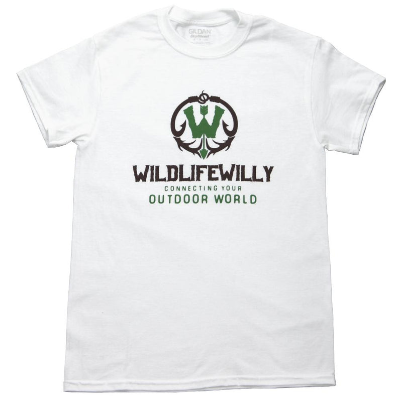 WWWBRN-XXL WW T-Shirt White Brown Logo-XXL