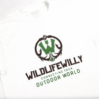 WWWBRN-S WW T-Shirt White Brown Logo