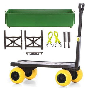 Multi-Purpose Garden Cart - Transforms into several Carts and Caddies