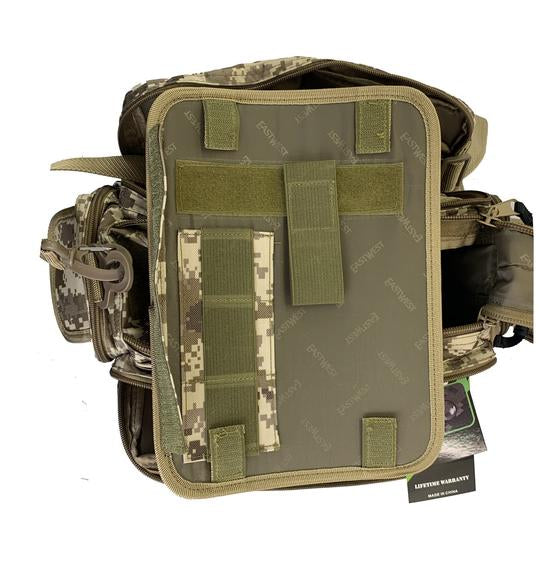 RTDC701L-TAC Tactical Range Bag Tan/Digital Camo ACU -LARGE