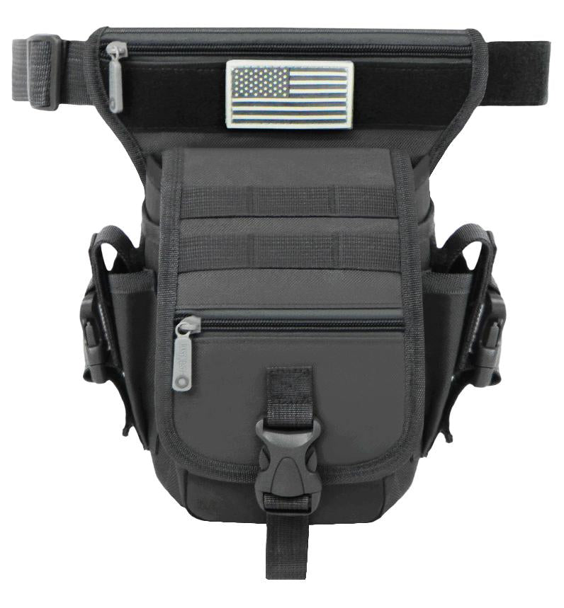 RT519-BK  Tactical Hip Bag - Black