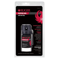 RU-M60FT-G Ruger Gel Formula Pepper Spray in Tactical Size with Flip Top and Belt Clip