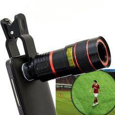 12X Optical zoom Camera Lens / Photography Lover's Pick