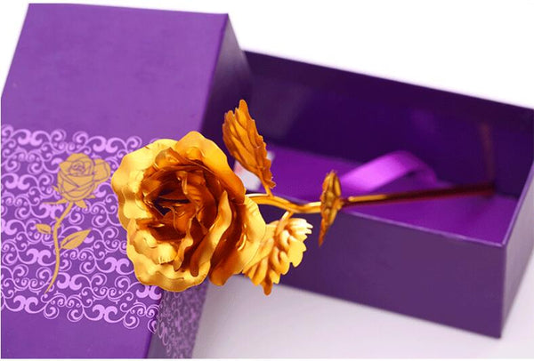 The 24 Carat Gold Rose - Best Valentine's Day Gift