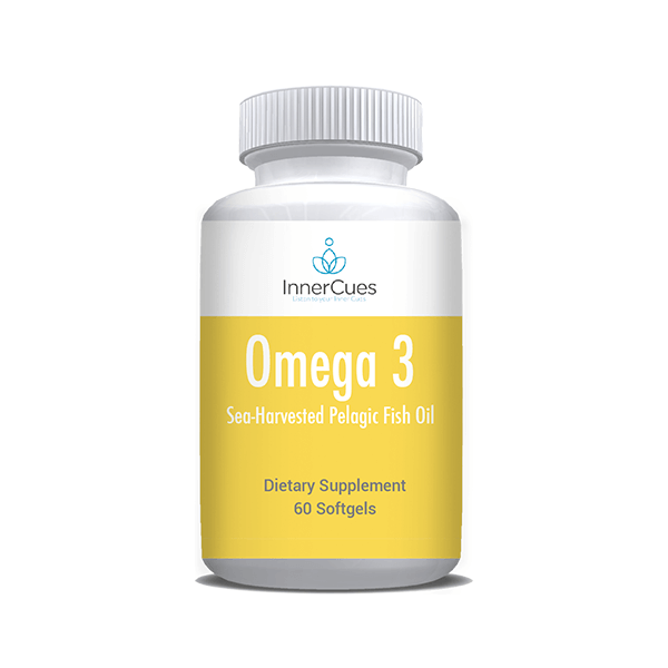 InnerCues Omega 3 Fish Oil