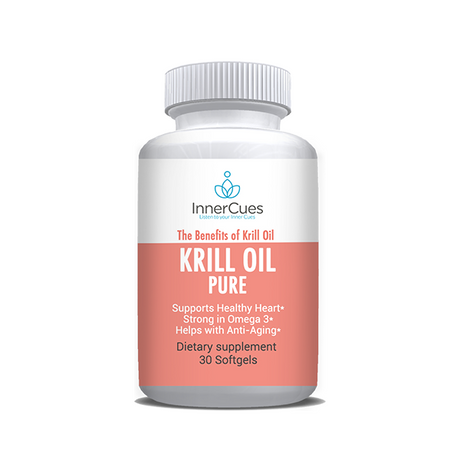 InnerCues Krill Oil - 30 Soft Gels