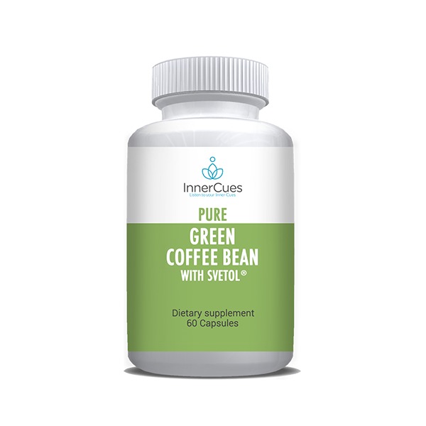 InnerCues Green Coffee Bean w/Svetol 800mg