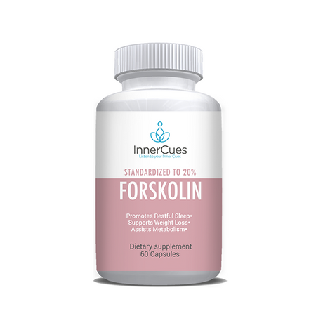 InnerCues Forskolin 250 mg (20%) - 60 Caps